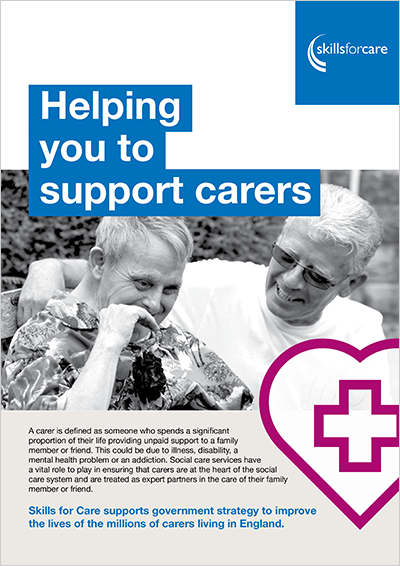 Carers Trust – A Guide on how to Support Carers of People with Dementia